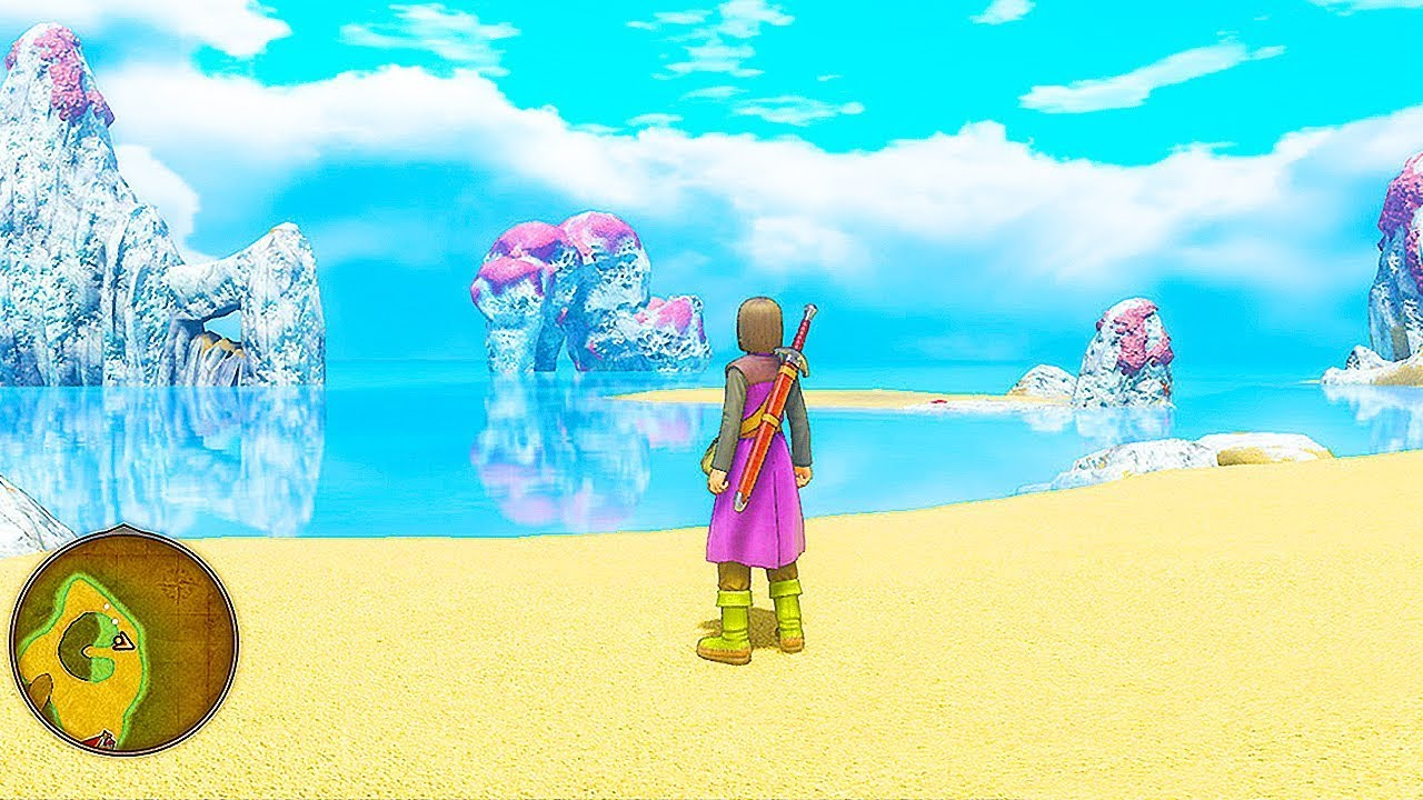 DRAGON QUEST 11 - 95 Minutes of Gameplay So Far (PS4 PC) Dragon Quest XI  Echoes of an Elusive Age
