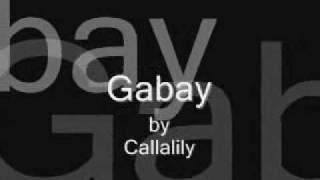 Gabay - Callalily