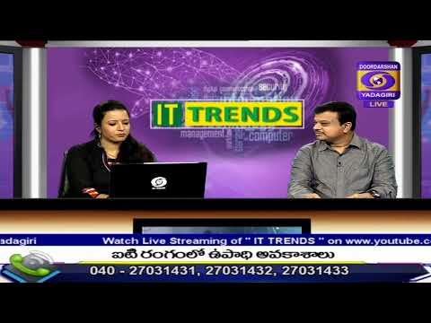 IT TRENDS Dt: 07-12-2019 , JOB OPPORTUNITIES IN IT  SECTOR