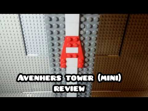Lego avengers tower MINI review