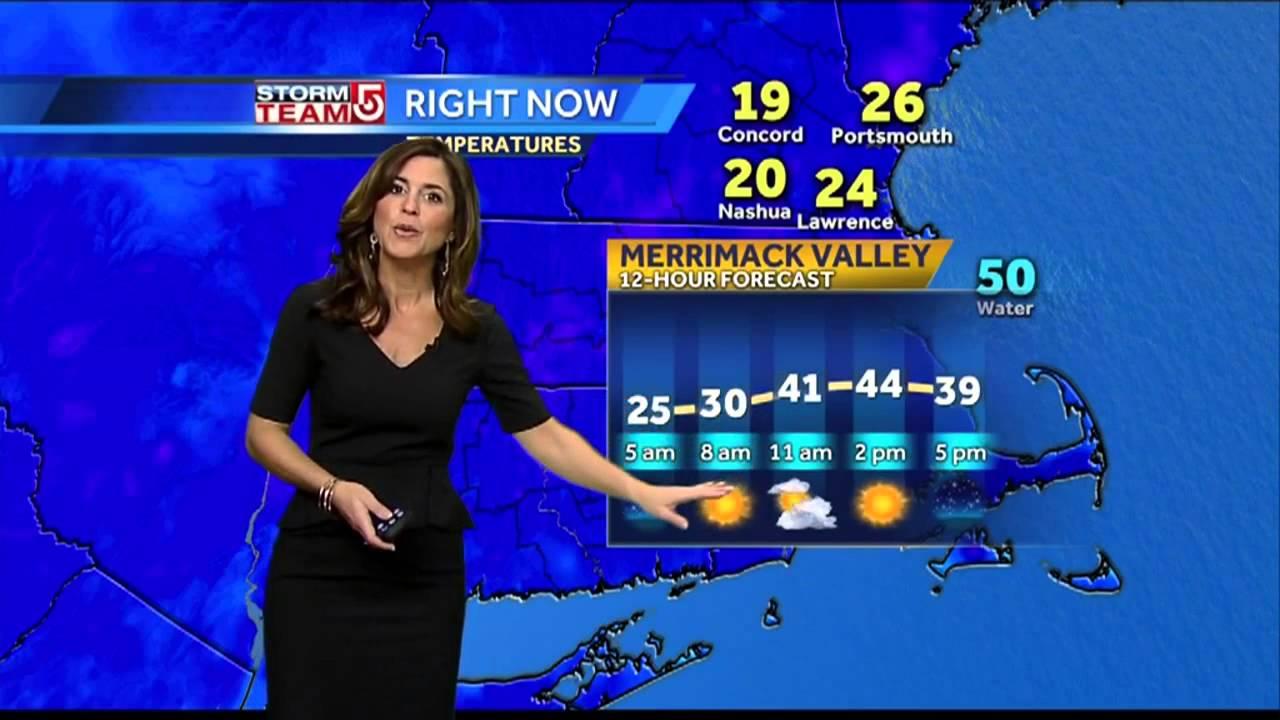 Cindy's Wednesday Boston-area weather forecast