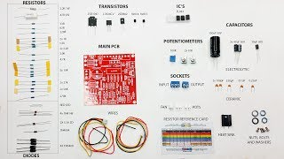 Variable Lab Bench Power Supply KIT 0-30V 0-3A build, soldering and testing tutorial