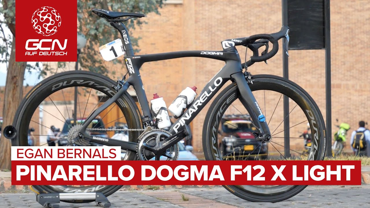 Egan Bernals Pinarello Dogma F12 X Light | Team Ineos