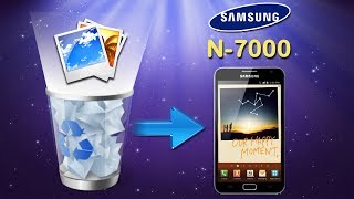 Galaxy Note Recovery: How to Restore Deleted Photos on Samsung Galaxy Note I (N7000)?