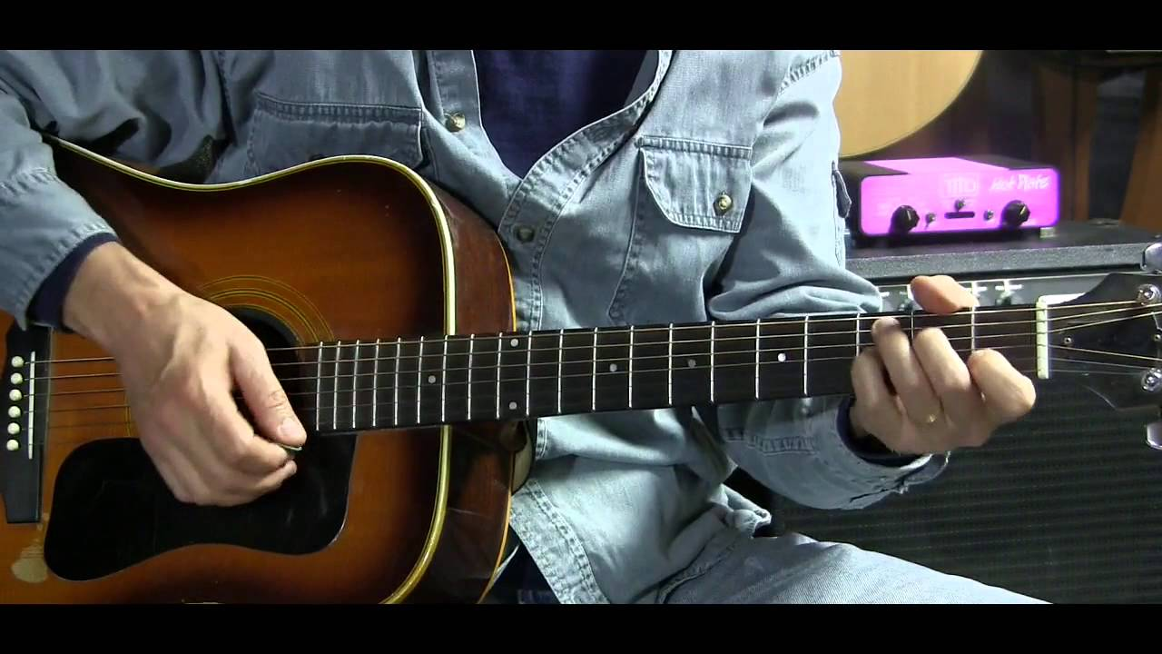 How To Play Blue Christmas On Guitar With Chord Grids L38 Youtube