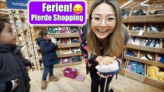 Claras Pferde Putzbox Shopping Haul ???? Neues Handy! KFC Essen gehen | Spendenaktion | Mamiseelen