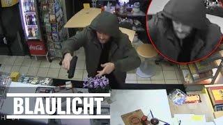 Dummer Räuber - Kiosk-Überfall in Köln