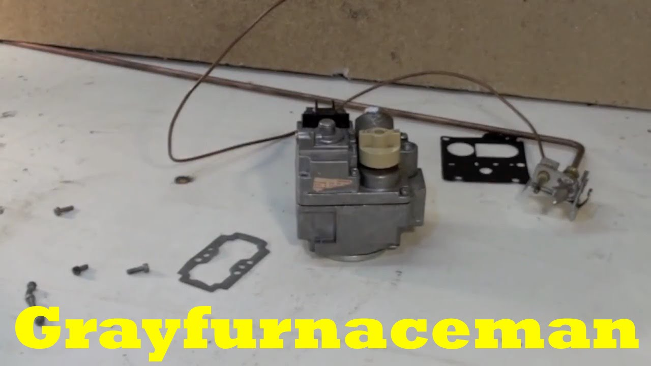 The combination gas valve explained - YouTube