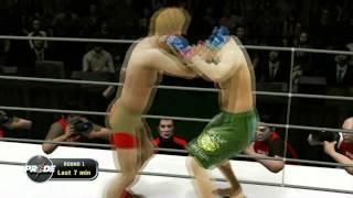 KUMITE 17 - Futanari vs Peppers