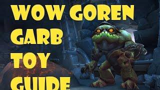 world of warcraft goren garb toy guide transform into a goren nibbler