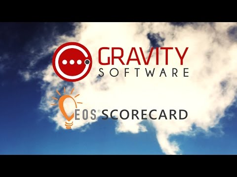 Gravity Software's EOS Scorecard for Growing Businesses