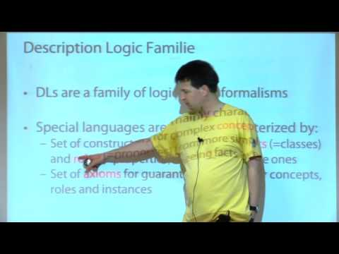 Lecture - 5 - Remarks on Web Ontology Language and Linked Open Data by Sven Groppe