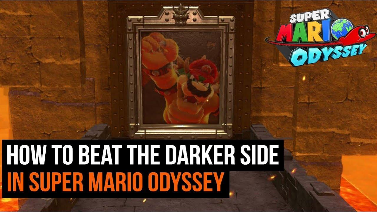 super mario odyssey darker side guide full walkthrough