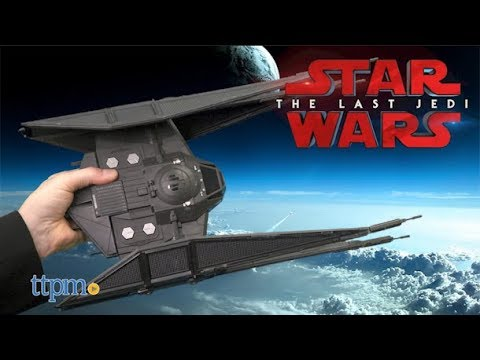 Star Wars Kylo Ren Tie Silencer star fighter Action Figures and ship