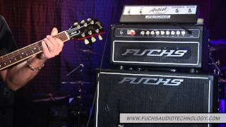 Andy Fuchs demonstrates Fuchs Full House 50 amp with a Gibson Les Paul