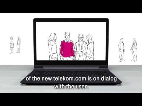 Social Media Post: New Telekom Website becomes the Group's leading medium