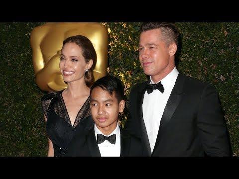 Maddox JoliePitt's FIRST  EVER! Some Awkwardness About Dad Brad Pitt