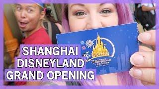 Shanghai Disneyland GRAND OPENING Experience - June 16, 2016