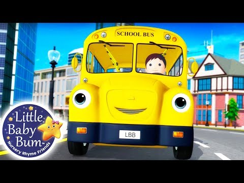 Wheels on The Bus  Little Ba Bum Part 16  Nursery Rhymes for Babies  Songs For Kids