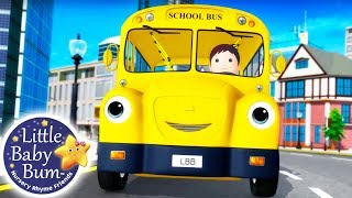 Wheels on The Bus | Learn with Little Baby Bum Part 16 | Nursery Rhymes for Babies | Songs For Kids
