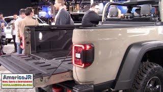 2020 Jeep Gladiator pickup truck unveiled at LA Auto Show (AutoMobility LA)