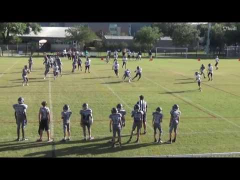 Annunciation Orthodox School - Cole Bailey Football Highlights 2016