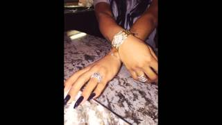 #RickRoss proposed to Lira Galore Mercer! Rapper gave supermodel an engagement ring! #liragalore