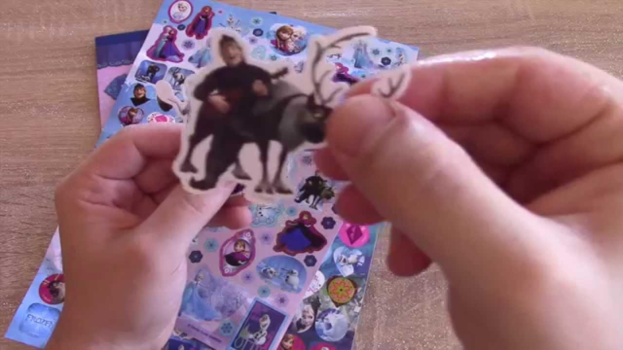 63522c4337 Disney Frozen Movie Stickers Collection over 700 elsa