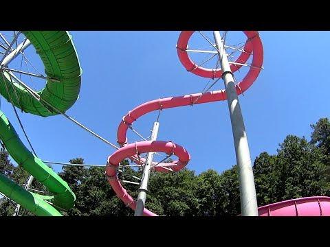 UFO Water Slide at Adrenalin Csúszdapark