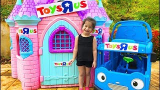 Pretend Toy Store Kid's Video with Layla and Ava