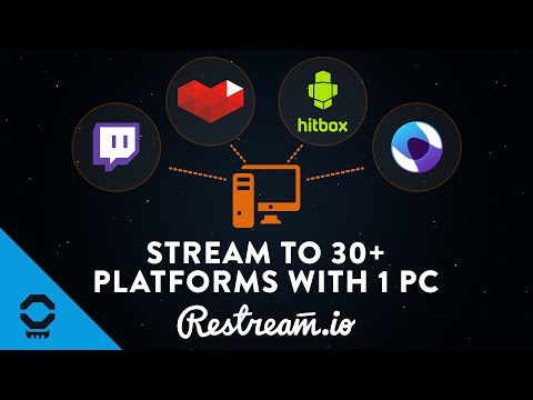 Restream.io - Stream to Twitch, YouTube, Hitbox, and More at the Same Time