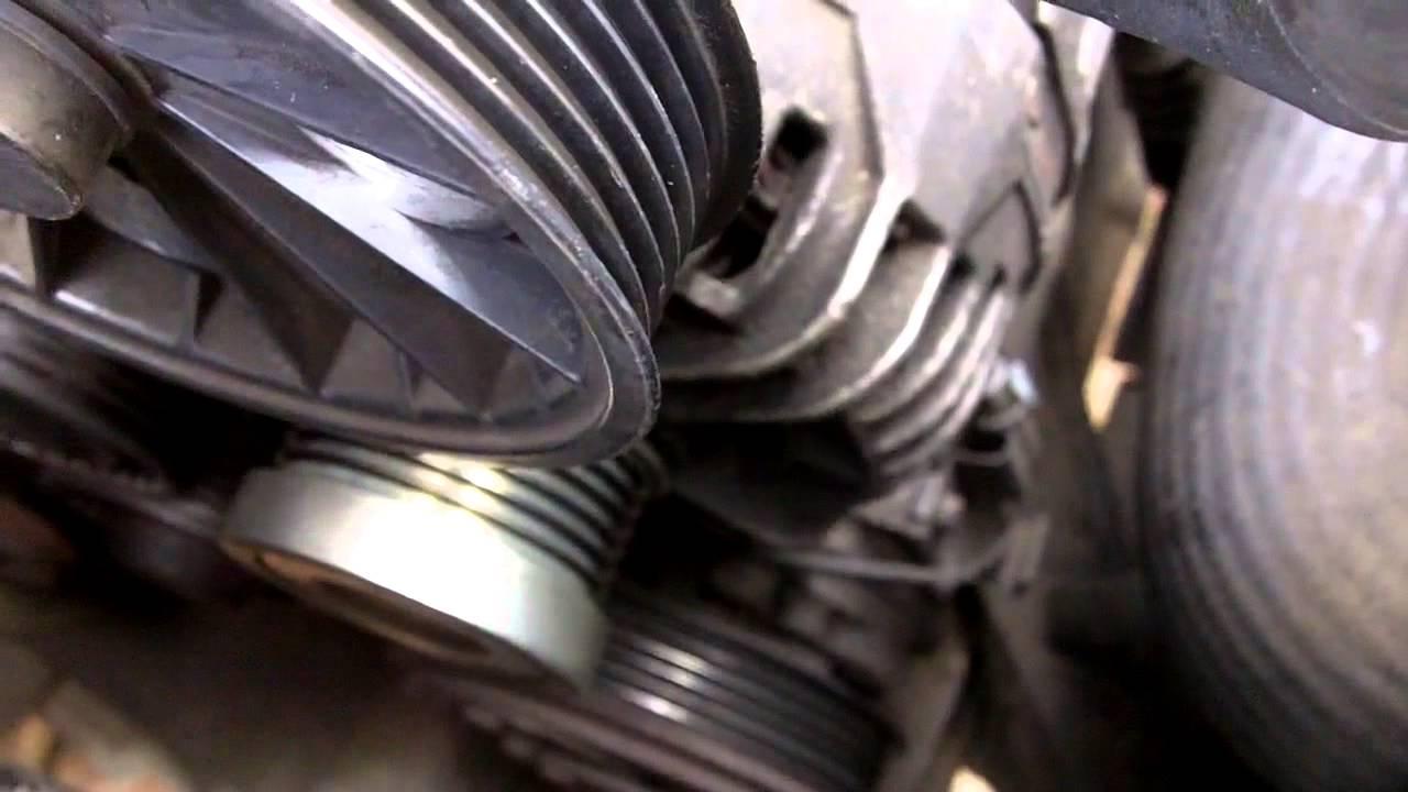 Volvo S60 Timing Belt Replacement 240 Alternator