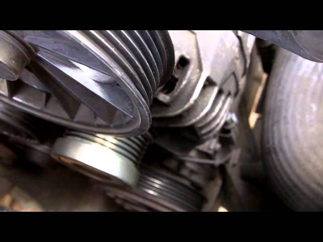 Volvo D5 Auxiliary / Serpentine Belt Replacement - VidInfo