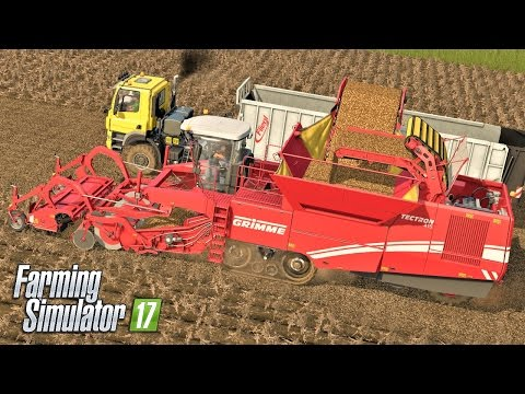 Multiplayer Farming Simulator 17 | POTATOES | Giants Island EP8