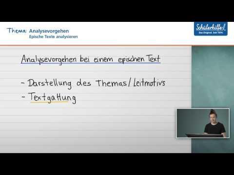 Erzählperspektive // Epische Texte analysieren // Deutsch // Schülerhilfe Lernvideoиз YouTube · Длительность: 1 мин41 с