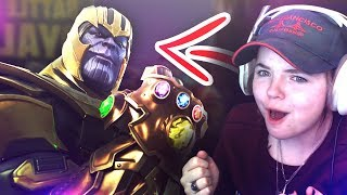 THANOS is NASTY (Infinity War Fortnite Mode)