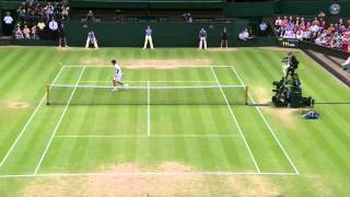 HSBC Perfect Play: Incredible point by Andy Murray at Wimbledon 2013