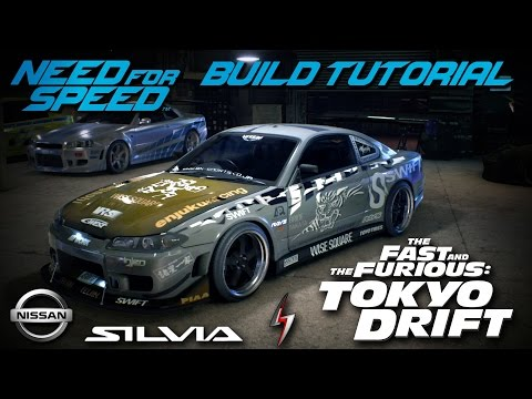 Need for Speed 2015 | Tokyo Drift Sean's Nissan Silvia Build Tutorial | How To Make