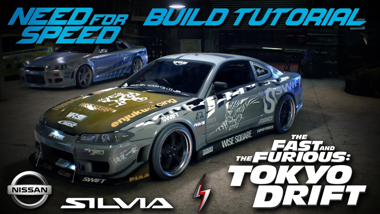 Need For Speed Tokyo Drift Sean S Nissan Silvia Build