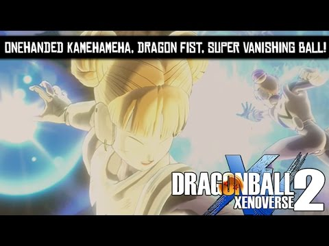 Dragon Ball Xenoverse 2 - How to unlock OneHanded Kamehameha, Dragon Fist and Super Vanishing Ball!
