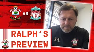SOUTHAMPTON VS LIVERPOOL | Ralph Hasenhüttl previews the Premier League match