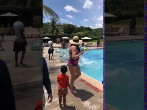 Jamaican Man Slide On Water Fascinate Social Media