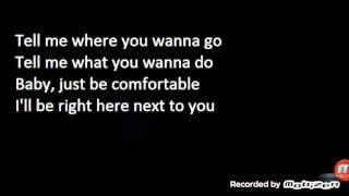 comfortable lyrics