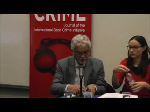 ISCI Panel - Genocide Now in Burma and Sudan: Lessons from the Recent Past - 18th April 2016