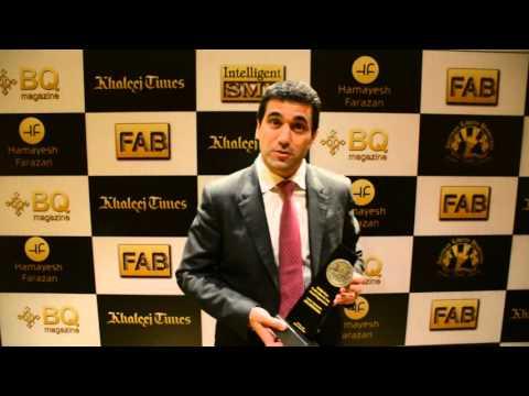 CEO AXA Gulf Insurance Cedric Charpentier