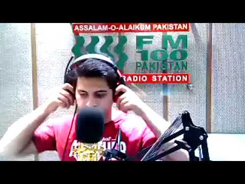 Rj Haroon Javed live radio show from Fm100 LAhore
