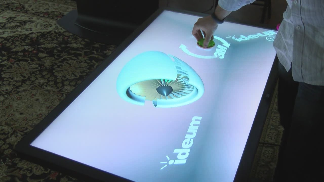 Interactive Coffee Table Digital Coffee Table Maker Based In New Mexico Youtube
