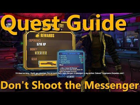 Borderlands the Pre-sequel | Quest: Don't Shoot the Messenger