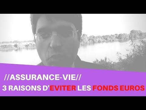 3 RAISONS D'EVITER LES FONDS EN EURO EN ASSURANCE VIE