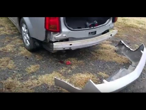 2003 2007 Cadillac Cts Rear Bumper Cover Removal Guide